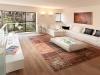 patchwork-rug-in-living-room